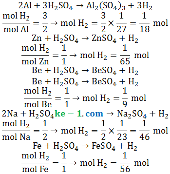 soal hidrogen terbanyak