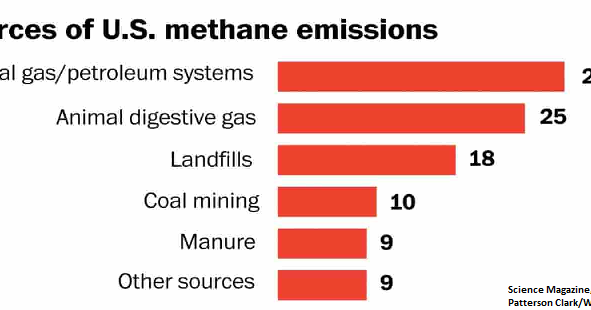 Where Does Methane Pollution Come From