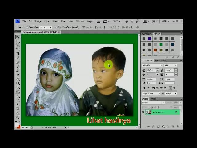 Cara Menggabungkan 2 Foto Dalam 1 Gambar By Tutorial Xtra