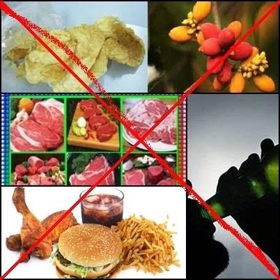Pantangan makanan penderita kanker