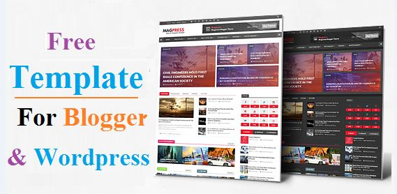 Top 10 SEO Friendly Templates For Blogger And Wordpress Free ...