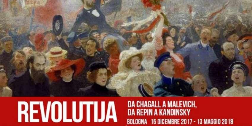 Revolutija. Da Chagall A Malevich Da Repin A Kandinsky, a Bologna fino a maggio