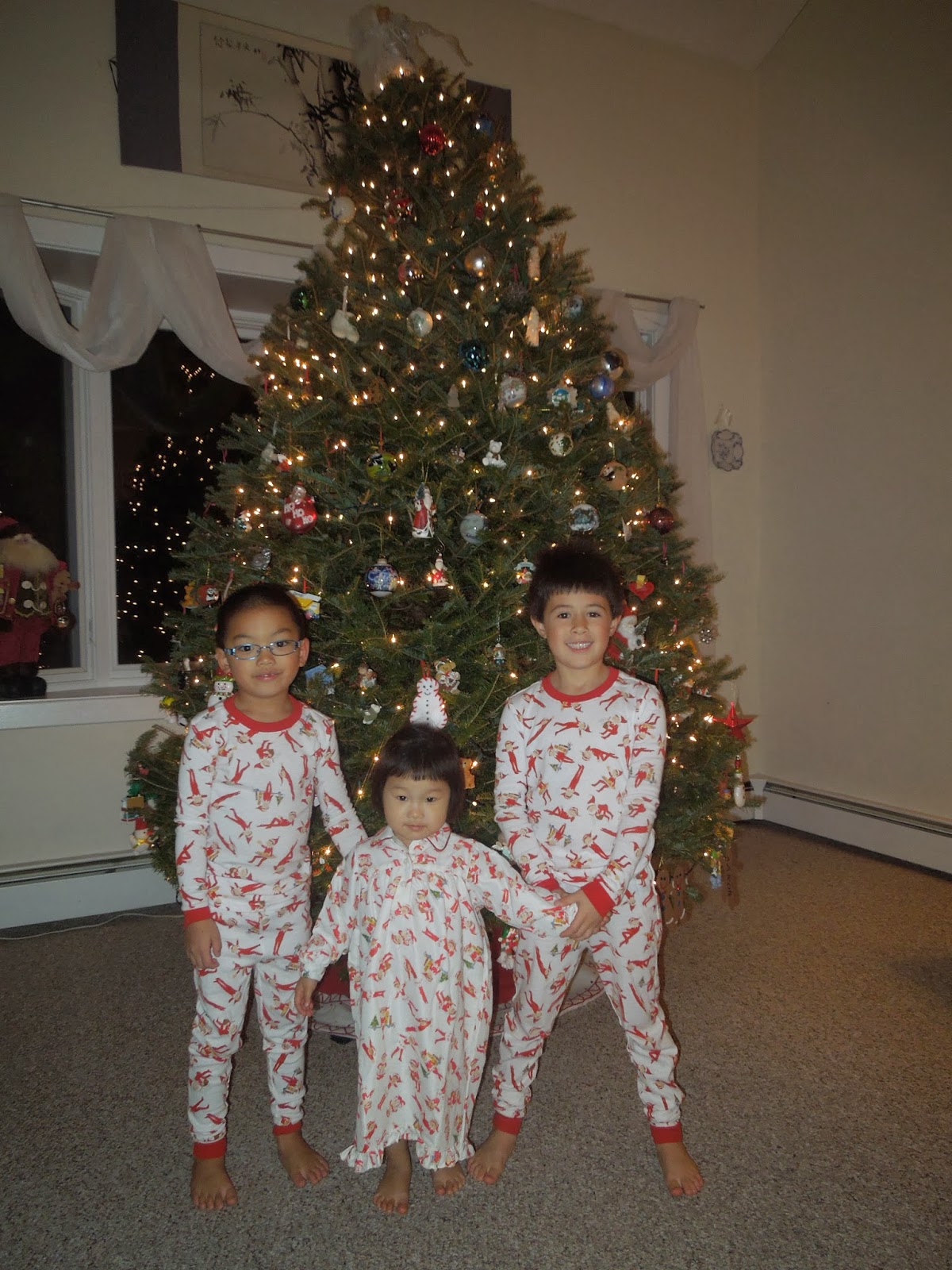Our Journey to Aaron  Matching Christmas (Elf on the Shelf) Pajamas ... a85be316f