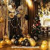 Ide Dekorasi Pesta Ulang Tahun Tema Hitam Emas