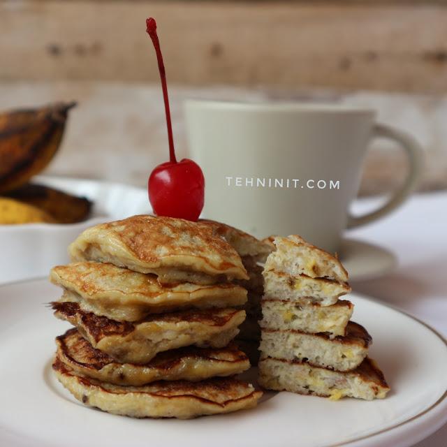 Pancake Pisang 2 bahan