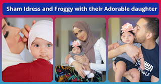 Sham Idress and Froggy with their Adorable daughter - Awesome Clicks
