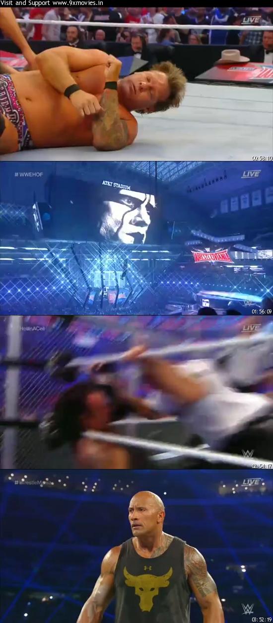 Download WWE WrestleMania 32 2016 PPV WEBRip 480p 1.1GB