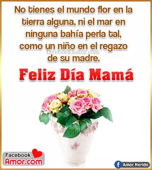 regalar flores para mamá