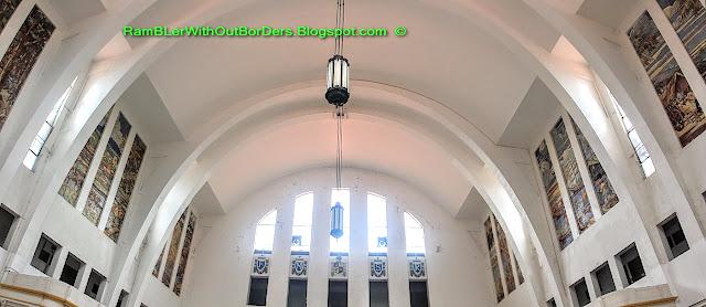Interior, Main hall, Tanjong Pagar Raiway Station, Singapore