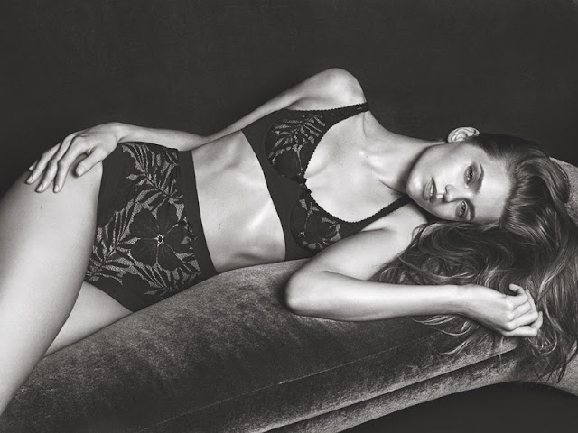 Agent Provocateur Fall/Winter 2016 Campaign featuring Abbey Lee Kershaw