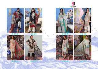 Pakistani Suits: Shraddha Designer Muzlin collection