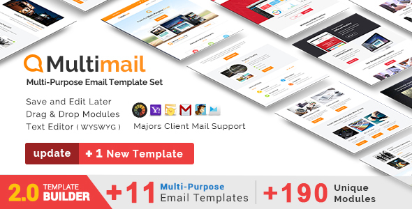 Multimail Responsive Apple Mail Template Download