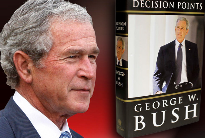george bush autobiography