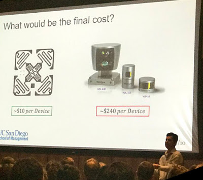 Solid State LIDAR Startup from Jacobs School Wins Biz Competition