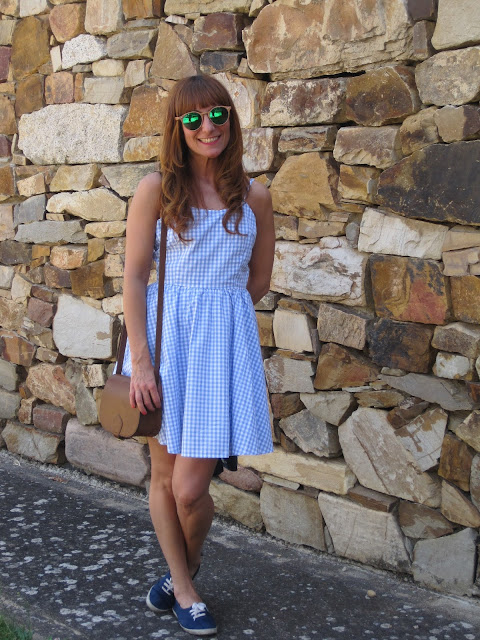 vestido vichy / gingham dress
