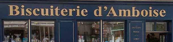 Le magasin de déstockage de la biscuiterie d'Amboise