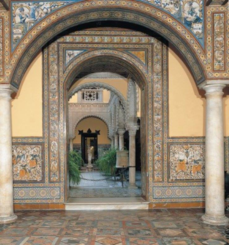 Los viajes de bevi la bellota viajera palacio de la for Alquiler de casas en lebrija sevilla