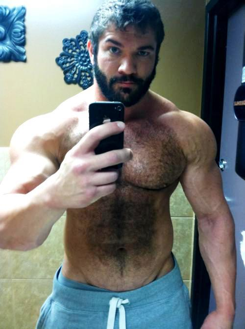 Hairy Muscle Men Galleries 9