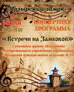 Мозырь, библиотека, концерты