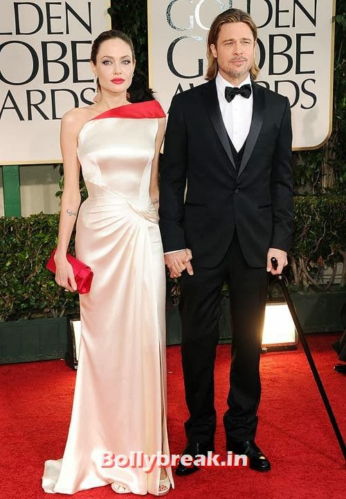 Angelina Jolie and Brad Pitt, The most stylish couples of 2013