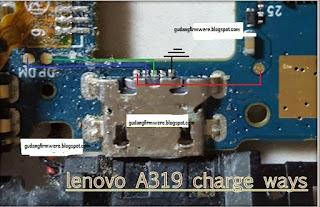 trick jumper jalur charger lenovo a319