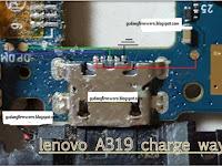 Jalur Charger Lenovo A319 ( Trick Jumper )