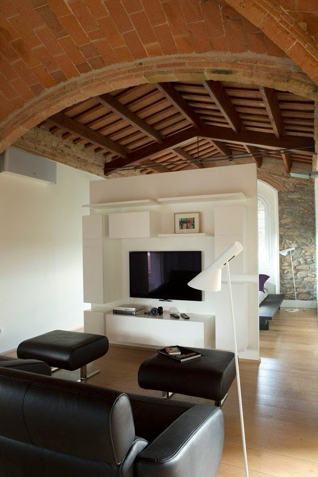 The home of the chef Joan Roca in Girona in Spain