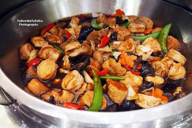 Stir Fried Japanese Beancurd With Mushroom