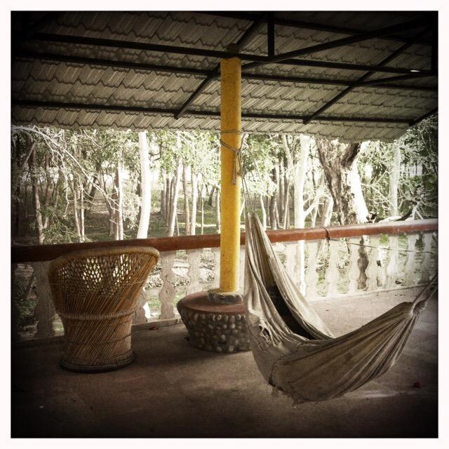 Santosh Puri Ashram hammock