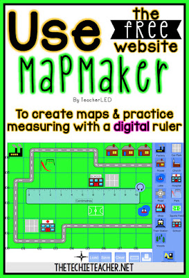 Use the free website, Mapmaker, to create maps and practice measuring with a digital ruler.