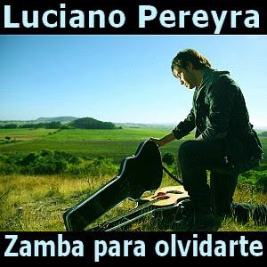 letra y acordes de guitarra y piano, zamba para olvidar