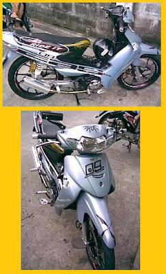 Modif Motor Smash 2004 : modif, motor, smash, Modifikasi, Suzuki, Smash, Racing
