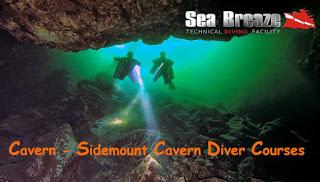 Sidemount Cavern Diver Course