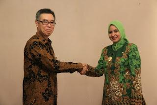 Bupati Faida Terima Kunjungan Konsulat Jepang