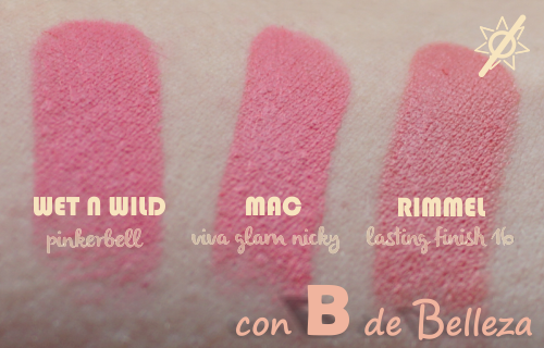 Clon low cost Viva glam Nicky MAC