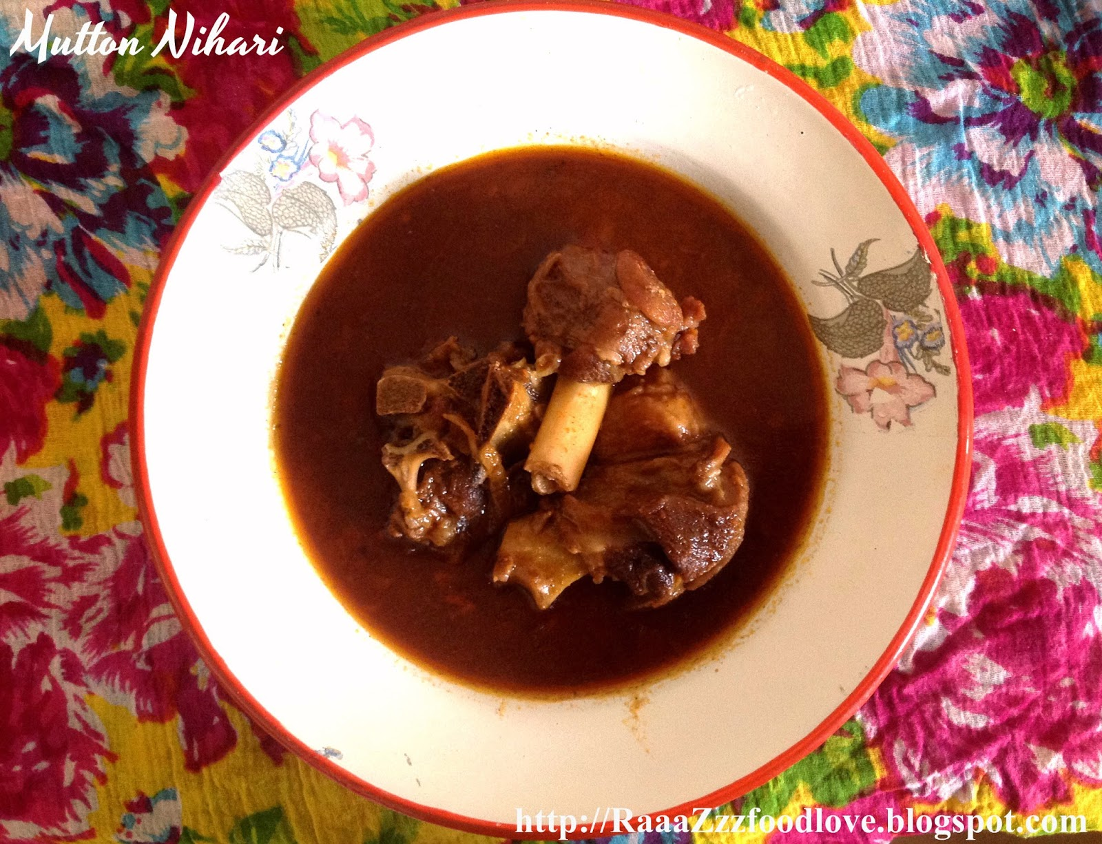 how to make mutton nihari