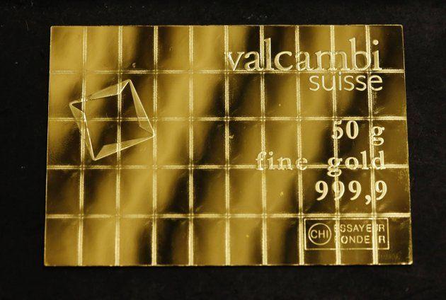 Bar coklat emas (Tedi tak makan coklat, emas)