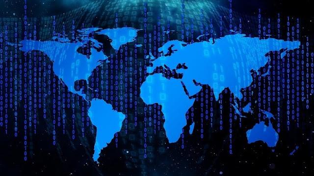 peta data dunia