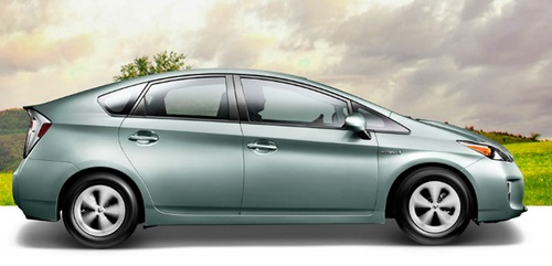 Toyota  Prius 2016 With Solar Roof Design