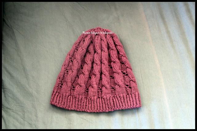 tricot maman fatiguée bonnet hermione