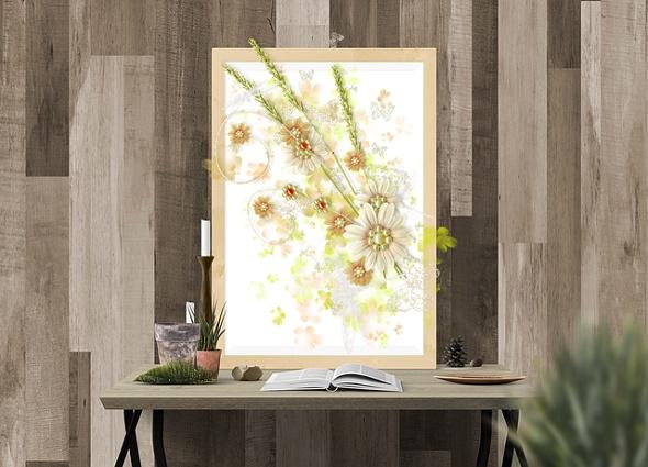 manualidades, cuadros florales 3D, primavera, diys