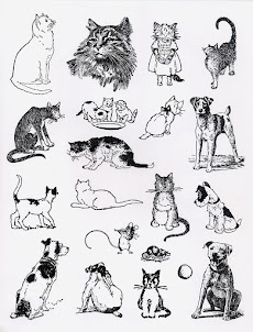 { PETS } Rubber Stamp Sheet