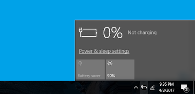 Cara Mengatasi Icon Baterai Windows 10 Yang Hilang