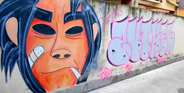 Graffiti by Justin Rozario, Remille Bargi and Missy J Lyndem
