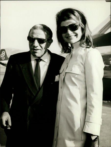 With his wife, Jackie
