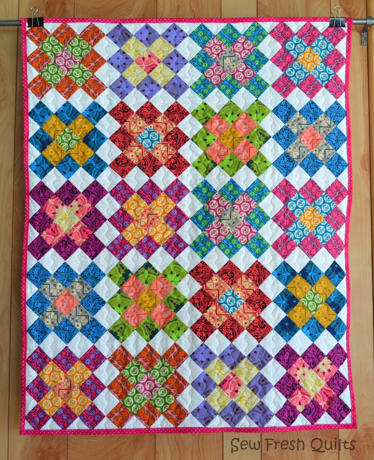 Free Quilt Patterns Square Blocks : Sew Fresh Quilts: Granny Square Quilt Blocks