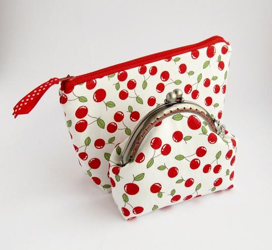 вишни, комплект, sewing, cherry