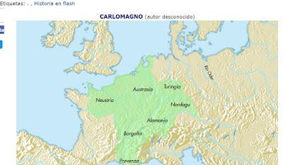 Tomado de: http://www.profesorfrancisco.es/2011/07/carlomagno-en-flash.html