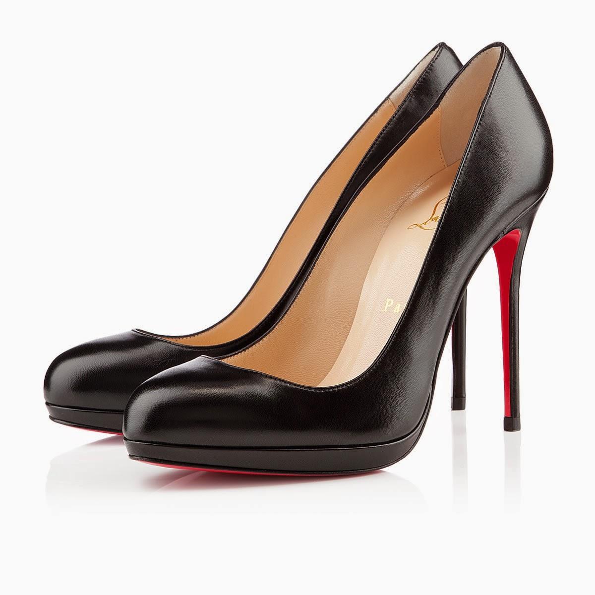 Black Court Shoes Size