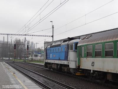 Lokomotywa 754 068-5, České dráhy, Ostrava střed